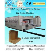 Buy cheap Automatic Corrugated Carton Making Machine Slotter Die Cutter Lead Edge Feeding from wholesalers