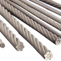 Buy cheap 34*7 36*7 35W*7 40W*7 Multi-strand Wire Rope from wholesalers