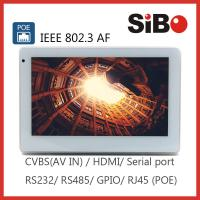 """Wall Mounting 7"""" Android POE Powered Touch Screen For User Interface"""