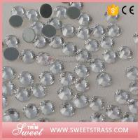 Buy cheap Crystal Clear Wholesale Loose Rhinestones Women Fashion DIY Garment Trim Dress Nail Art Accessories Flat Back Studs from wholesalers