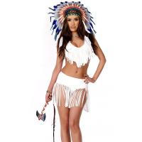 Buy cheap High quality Indian Summer Sexy Native American Costume Wholesale with Size S to XXL Available from wholesalers