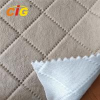 Buy cheap Emboss Suede Velvet Sponge Fabric for Car Seat Cover 150CM Width product