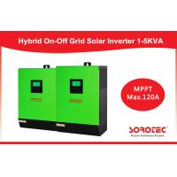 Buy cheap LCD Display 1kva 12v smart hybrid inverter with MPPT Solar Charge Controller from wholesalers