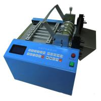 Buy cheap Yellow wax tube cutting machine LM-160S,automatic tape dispenser,plastic tube cutting machine from wholesalers