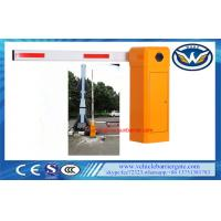 Buy cheap Car Park Entrance Automatic Barrier Gate 50 / 60 Hz Vehicle Access 8 Meters Boom from wholesalers
