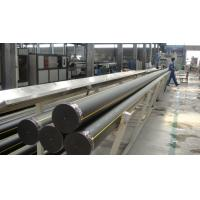 Buy cheap Non-toxic HDPE poly pipe with good aseismic performance for water supply, PE gas pipes from wholesalers