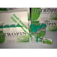 Buy cheap Igtropin Legit Raw Steroid Powder Human Growth Hormone CAS 139755-83-2 White Color from wholesalers