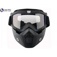 Buy cheap Full Face Tactical Military Goggles TPU Windproof Reticular Construction Breathable product