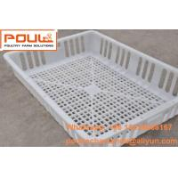 Buy cheap White Orange Color Plastic PE Material Broiler Chicken Carriage Cage & Transport Cage for Poultry Farming from wholesalers