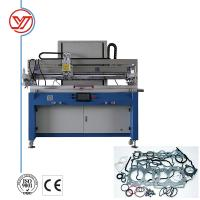Buy cheap 700*1600 Semi Automatic Screen Printing Machine For Plastic Sheet from wholesalers