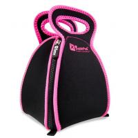 Buy cheap neoprene picnic bag with 4 zipper, open completely, it likes a table cloth to take food product