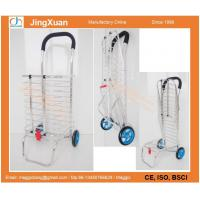 Buy cheap RE1111L Aluminum shopping trolley,Portable Folding Shopping Grocery Basket Cart Trolley Tr from wholesalers