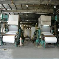 Buy cheap Toilet tissue paper making machine from wholesalers