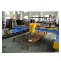 Buy cheap 4000mm Gantry Type CNC Plasma Cutting Machine with vertical and horizontal cutting from wholesalers