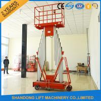 Buy cheap Mini Light Weight Electric Truck Mounted Aerial Work Platforms 1.4 * 0.6 mm Table Size from wholesalers