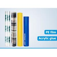 Buy cheap PE blue hard floor protective film wholesale from wholesalers