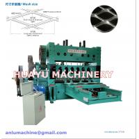 Buy cheap Heavy-duty Expanded Metal Mesh Machine from wholesalers
