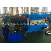 Buy cheap 0.8-1.5mm Galvanized Metal Deck Sheet Roll Forming Machine For Roof Building from wholesalers