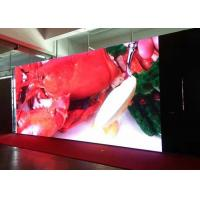 Buy cheap Indoor Fixed Led Display RGB , Customized Led Video Wall Viewing Distance 3-15 M from wholesalers