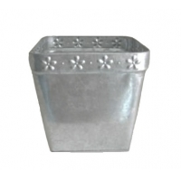 Buy cheap 0.285mm thickness PMS Round Galvanized Zinc Ash Bucket from wholesalers