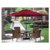 Buy cheap PE(Synthetic)Rattan/Cane/Wicker Tables and Chairs from wholesalers