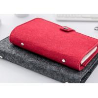 Buy cheap 106*38cm Felt Fabric Crafts A5 Binder Journal Refillable Notebook from wholesalers