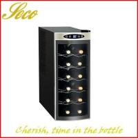 12 bottle wine chiller fridge