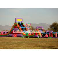 Buy cheap Elaborate Full Set Inflatable Obstacle Course With CE / UL Air Blower from wholesalers