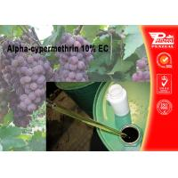 Buy cheap Alpha-cypermethrin 10% EC Pest control insecticides 67375-30-8 from wholesalers