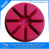 "Buy cheap 100mm/4"" Diamond resin concrete polishing pad for floor velcro-backed from wholesalers"