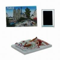 Buy cheap Polyresin Souvenir Fridge Magnet in 3-D Effect with Strong and Big Rubber Magnet on Back from wholesalers