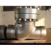 Buy cheap Large Carbon Steel  High-pressure Swing Check Valve with Screw Connection from wholesalers