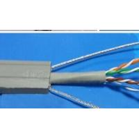 Buy cheap Flat Flexible Traveling Elevator Cable with TV Camera Cable in Grey Color TVVBG-STP CAT6E from wholesalers