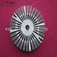 Buy cheap Item 269,Anodize 171mm Round Aluminum Extrusion Profile for heatsink, cooler from wholesalers
