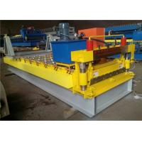 Buy cheap Automatic Color Steel Roll Forming Machine , Trapezoidal Sheet Roll Forming Machine from wholesalers