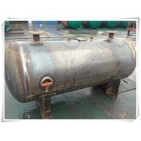 Buy cheap 230 Psi Pressure Compressor Air Storage Tank Replacements Horizontal / Vertical product