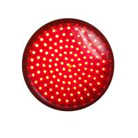 Buy cheap 300mm Red Signal Blinking LED Traffic Light Module, Pixel Cluster Semoforo from wholesalers