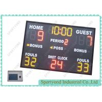 Buy cheap Basketball Courts Scoreboard For Sports Scorekeeper Wireless Controller from wholesalers