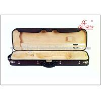 Buy cheap Lightweight Violin Case , Colorful Velvet Interior 4/4 Square Shaped Violin Case from wholesalers