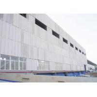 Buy cheap Concrete AAC Slab Panel Plant Lightweight Wall Panel Machine 380kw - 450kw Light weight and high strength product