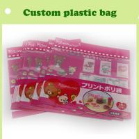 Buy cheap cartoon header bag with self-adhesive colorful in China from wholesalers
