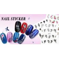 Buy cheap Safty no smelly Eco - friendly ink Simple polish nail styles 2d nail stickers for Nail Art from wholesalers