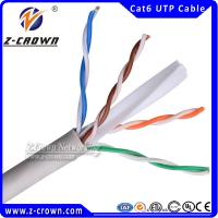 Buy cheap Cat 6 Networking Lan Cable 23AWG Crossover from wholesalers
