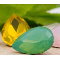 Buy cheap Opal Drops Glue on Rhinestones Non Hot Fix Crystal Components Point Back Dress Wedding Make up Packing Decoration Trims from wholesalers