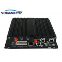 Buy cheap 4 Channel Video Player Vehicle Mobile DVR Two SD Card Storage CE Certificate from wholesalers