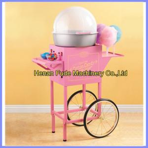 China Cotton candy machine, candyfloss machine, spun sugar machine, small snack machine on sale