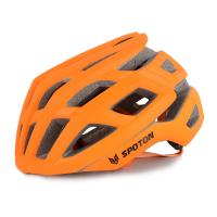 Buy cheap Customized Fashionable Cool Road Bike Helmets Sport Orange For Adult from wholesalers