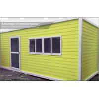Buy cheap Expandable Prefab Container House with Steel Sheet Roof and EPS Sandwich Wall 50mm from wholesalers
