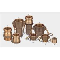 Buy cheap 6 Inch Quick Release Hydraulic Couplings Camlock Coupler Zn Plating from wholesalers
