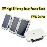 Buy cheap 4W High Efficiency Solar Power Bank Portable Solar Battery Charger Fodable Power Bank from wholesalers